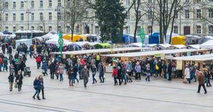 Festival fair Kaziuko muge Stock Image