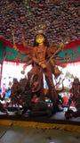 Festival famoso del bengalese di puja di Durga fotografia stock