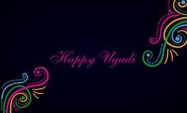 Festival feliz de Ugadi Imagen de archivo libre de regalías