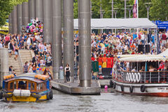 Festival Ferries Royalty Free Stock Image