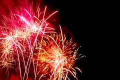 Festival of fireworks royalty free stock images