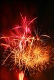 Festival of fireworks stock image