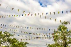 Festival flag Royalty Free Stock Photo