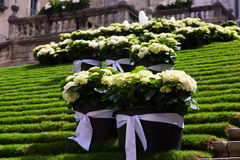 Festival of floral decorations. Spain Stock Photos