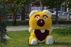 Festival of flowers in Baku city, Azerbaijan Royalty Free Stock Image