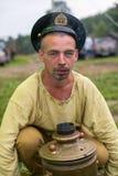 Festival of folk culture Russian Tea Royalty Free Stock Photo
