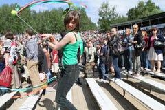Festival of folk music Wild Mint Stock Images
