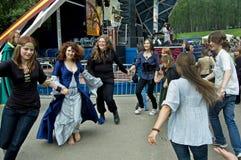 Festival of a folk music Wild Mint Royalty Free Stock Photo