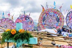 Festival géant de cerf-volant, Santiago Sacatepequez, Guatemala photographie stock