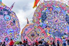 Festival géant de cerf-volant, Santiago Sacatepequez, Guatemala photo stock