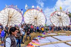 Festival géant de cerf-volant, Santiago Sacatepequez, Guatemala photo libre de droits