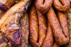 Festival gastronomico dell'aria aperta internazionale dei macellai in trasporto Immagini Stock