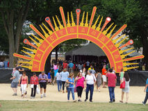 Festival Gate Stock Photography