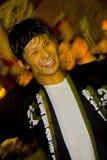 Festival giapponese dei danzatori Immagini Stock Libere da Diritti