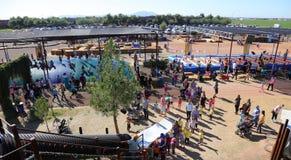 Festival 2015 Gilbert da queda, AZ Foto de Stock Royalty Free
