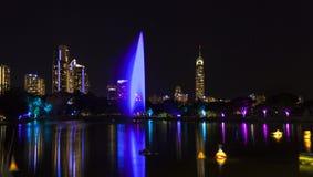 Festival Gold Coast Australia del resplandor Foto de archivo
