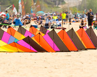 Festival grand 2015 de cerf-volant d'asile Images stock