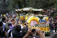 Festival grand de flotteur de fleur photo libre de droits