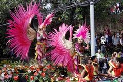Festival grand de flotteur de fleur image stock