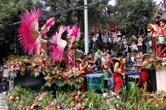 Festival grand de flotteur de fleur photographie stock libre de droits
