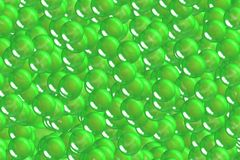 Festival green scales and bubbles geometry design Stock Photography