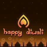 Festival heureux de diwali Photographie stock libre de droits