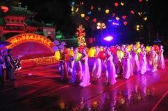 Festival heureux de moisson d'automne Foshan 2011 Photos stock