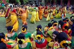 Festival hindú de colores Fotos de archivo libres de regalías