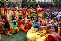 Festival hindú de colores Fotos de archivo
