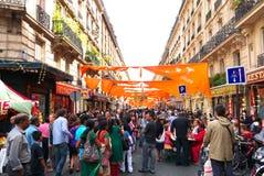 Festival hindú Ganesh Chaturthi Day Paris Imagen de archivo