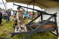 Festival histórico de vikingo fotografía de archivo libre de regalías
