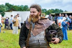 Festival histórico de viquingue Imagem de Stock
