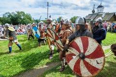 Festival histórico de viquingue Fotografia de Stock Royalty Free