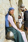 Festival histórico de viquingue Fotografia de Stock