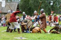 Festival histórico de viquingue Fotos de Stock