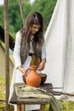 Festival histórico de viquingue Foto de Stock