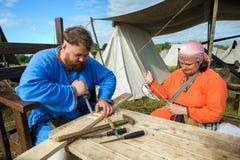 Festival histórico de viquingue Foto de Stock Royalty Free