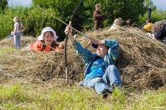 Festival historique de Viking Images stock