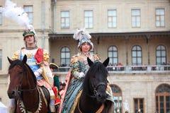 Festival historique militaire Gatchinskaya Byl Photographie stock libre de droits