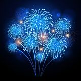 Holiday firework. Independence day. Festival holiday firework. Independence day Stock Photography