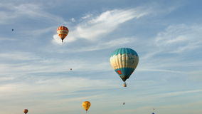 Festival Hot Air Balloons stock video