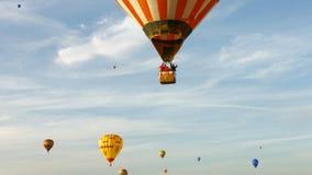 Festival Hot Air Balloons stock video