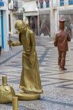 Festival humano 2018 das estátuas fotos de stock royalty free