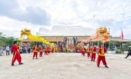 Festival i den gamla templet Royaltyfri Foto