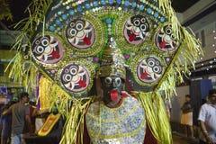 Festival i Kerala Arkivfoto