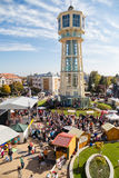 Festival i Ungern Arkivbild