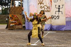 Festival iberoamericano Bogot? 2014 del teatro foto de archivo