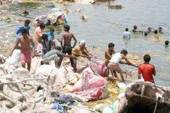 Festival Immersione-Indù di Ganesh Immagine Stock