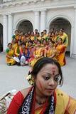 Festival indù dei colori Fotografie Stock Libere da Diritti