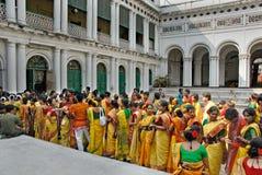 Festival indù dei colori Immagini Stock